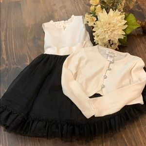 Janie and Jack Special Occasion Dress & Sweater